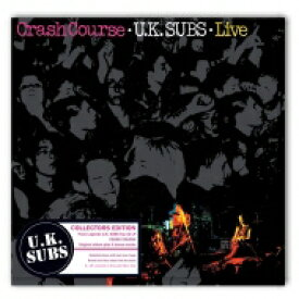 Uk Subs / Crash Course: Live (10インチアナログレコード) 【12in】