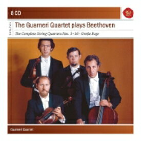 【送料無料】 Beethoven ベートーヴェン / 弦楽四重奏曲全集 グァルネリ四重奏団(1966〜69)(8CD) 輸入盤 【CD】