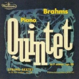 Brahms ブラームス / 弦楽六重奏曲第1番、ピアノ五重奏曲 ウィーン・コンツェルトハウス四重奏団、イェルク・デムス、ギュンター・ヴァイス 【Hi Quality CD】