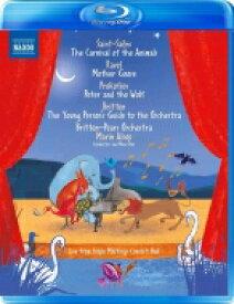 子供たちのための音楽集〜動物の謝肉祭、ピーターと狼、青少年のための管弦楽入門、マ・メール・ロワ マリン・オールソップ&ブリテン=ピアーズ管弦楽団 【BLU-RAY DISC】