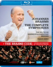 Brahms ブラームス / 交響曲全集 パーヴォ・ヤルヴィ&ドイツ・カンマーフィル(2018年パリ・ライヴ) 【BLU-RAY DISC】
