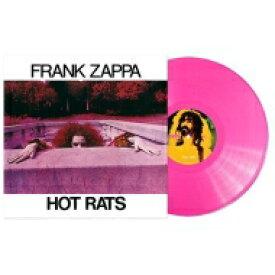 Frank Zappa フランクザッパ / Hot Rats: 50th Anniversary (ピンクヴァイナル仕様 / 180グラム重量盤レコード) 【LP】