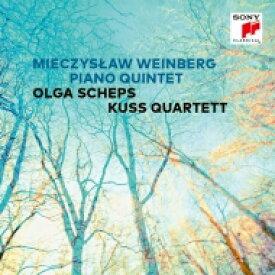 Vainberg バインベルグ / ピアノ五重奏曲 オルガ・シェプス、クス四重奏団 輸入盤 【CD】