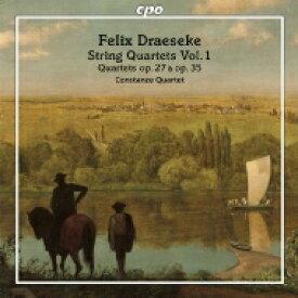 ドレーゼケ、フェリクス(1835-1913) / 弦楽四重奏曲第1番、第2番 コンスタンツェ四重奏団 輸入盤 【CD】
