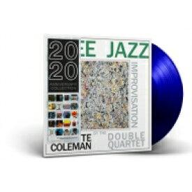 Ornette Coleman オーネットコールマン / Free Jazz (ブルーヴァイナル仕様 / アナログレコード / DOL) 【LP】