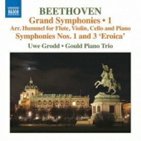Beethoven ベートーヴェン / 交響曲第3番『英雄』、第1番〜フンメル編曲フルート&ピアノ・トリオ版 ウーヴェ・グロット、グールド・ピアノ・トリオ 輸入盤 【CD】