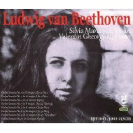 【送料無料】 Beethoven ベートーヴェン / ヴァイオリン・ソナタ集 シルヴィア・マルコヴィチ、ヴァレンティン・ゲオルギュ(3CD) 輸入盤 【CD】