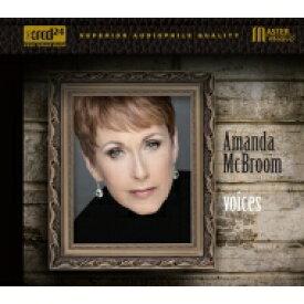 【送料無料】 Amanda Mcbroom / Voices 【CD】