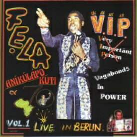 Fela Kuti (Anikulapo) フェラクティ / V.i.p. 【LP】