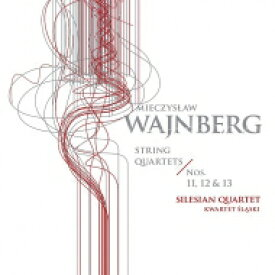 【送料無料】 Vainberg バインベルグ / 弦楽四重奏曲第11番、第12番、第13番 シレジアン四重奏団 輸入盤 【CD】