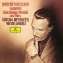 Schumann シューマン / 謝肉祭、ウィーンの謝肉祭の道化 アルトゥーロ・ベネデッティ・ミケランジェリ(1957) 【Hi …