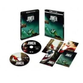 【送料無料】 【初回仕様】ジョーカー <4K ULTRA HD & ブルーレイセット>(2枚組/ポストカード付) 【BLU-RAY DISC】