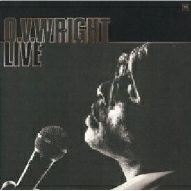 Ov Wright オービーライト / Live In Japan 【CD】