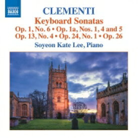 Clementi クレメンティ / Keyboard Sonatas: Soyeon Kate Lee 輸入盤 【CD】
