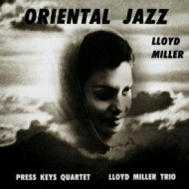 Lloyd Miller / Oriental Jazz (アナログレコード) 【LP】