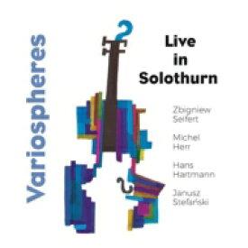 【送料無料】 Zbigniew Seifert / Variospheres / Live In Solothurn 輸入盤 【CD】