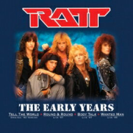 Ratt ラット / Early Years (Colored Vinyl) 【12in】