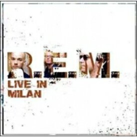 R.E.M. アールイーエム / Live In Milan 【LP】