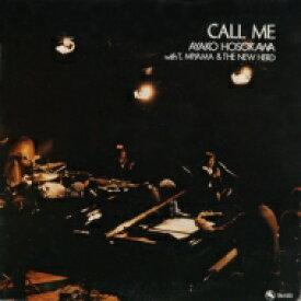 細川綾子 / Call Me 【CD】