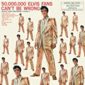 Elvis Presley エルビスプレスリー / 50, 000, 000 Elvis Fans Can't Be Wrong: Elvis Gold 【LP】