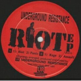 Underground Resistance アンダーグラウンドレジスタンス / Riot Ep (12インチシングルレコード / Underground Resistance) 【12in】