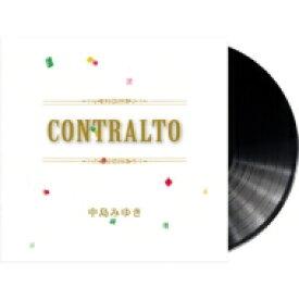 中島みゆき ナカジマミユキ / CONTRALTO 【完全生産限定】(アナログレコード) 【LP】