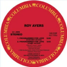Roy Ayres ロイエアーズ / Programmed For Love 【12in】