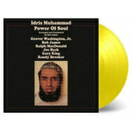 Idris Muhammad / Power Of Soul (イエロー・ヴァイナル仕様 / 180グラム重量盤レコード / Music On Vinyl) 【LP】