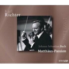 【送料無料】 Bach, Johann Sebastian バッハ / マタイ受難曲 カール・リヒター&ミュンヘン・バッハ管弦楽団、エルンスト・ヘフリガー、他(1969年東京ライヴ ステレオ)(3CD) 輸入盤 【CD】