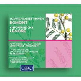 Beethoven ベートーヴェン / ベートーヴェン:劇音楽『エグモント』、ライヒャ:劇的カンタータ『レノーレ』 ゲルト・アルブレヒト&ハンブルク国立フィル、ベルニウス&プラハ室内合唱団、他(2CD) 輸入盤 【CD】