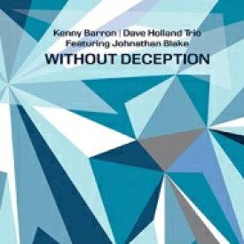 【送料無料】 Kenny Barron / Dave Holland / Johnathan Blake / Without Deception 【LP】