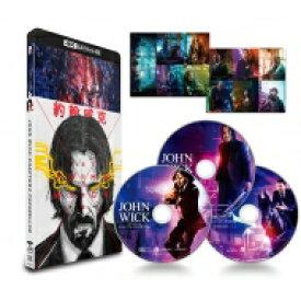 【送料無料】 ジョン・ウィック:パラベラム 4K ULTRA HD+本編Blu-ray+特典Blu-ray〈3枚組〉 【BLU-RAY DISC】