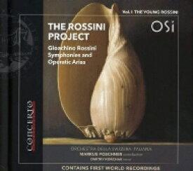 【送料無料】 Rossini ロッシーニ / The Rossini Project Vol.1-young Rossini: Poschner / Svizzera Italiana O & Cho Korchak(T) 輸入盤 【CD】