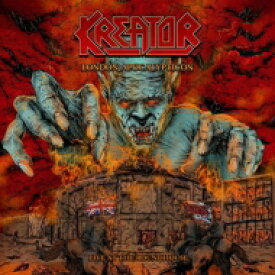Kreator クリエイター / London Apocalypticon - Live At The Roundhouse: +live In Chile + Masters Of Rock 【BLU-RAY DISC】