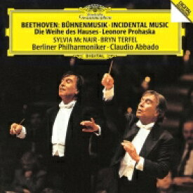 Beethoven ベートーヴェン / 『献堂式』のための音楽、『レオノーレ・プロハスカ』のための音楽 クラウディオ・アバド&ベルリン・フィル 【Hi Quality CD】