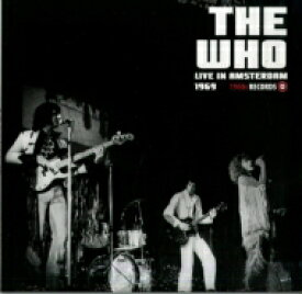 The Who フー / Live In Amsterdam 1969 【LP】