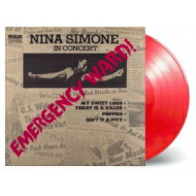 Nina Simone ニーナシモン / Emergency Ward (カラーヴァイナル仕様 / 180グラム重量盤レコード / Music On Vinyl) 【LP】
