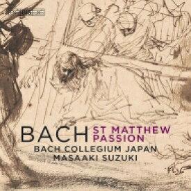 【送料無料】 Bach, Johann Sebastian バッハ / マタイ受難曲 鈴木雅明&バッハ・コレギウム・ジャパン(2019)(2SACD) 輸入盤 【SACD】