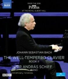 Bach, Johann Sebastian バッハ / 平均律クラヴィーア曲集 第2巻 アンドラーシュ・シフ(2018年プロムス・ライヴ) 【BLU-RAY DISC】