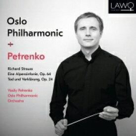 【送料無料】 Strauss, R. シュトラウス / アルプス交響曲、死と浄化 ワシリー・ペトレンコ&オスロ・フィル 輸入盤 【CD】