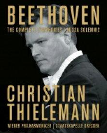 【送料無料】 Beethoven ベートーヴェン / 交響曲全集、ミサ・ソレムニス クリスティアーン・ティーレマン&ウィーン・フィル、シュターツカペレ・ドレスデン(4BD) 【BLU-RAY DISC】