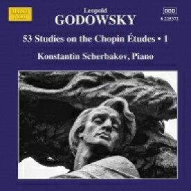 Godowsky ゴドフスキー / ピアノ作品集 第14集〜ショパンのエチュードによる53の練習曲 第1集 コンスタンティン・シェルバコフ 輸入盤 【CD】