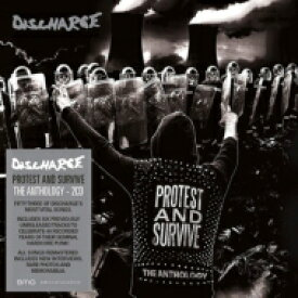 DISCHARGE ディスチャージ / Protest And Survive : The Anthology 輸入盤 【CD】