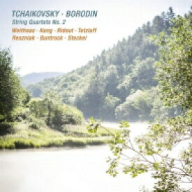 【送料無料】 Tchaikovsky チャイコフスキー / チャイコフスキー:弦楽四重奏曲第2番、ボロディン:弦楽四重奏曲第2番 アンティエ・ヴァイトハース、ビョル・カン、ターニャ・テツラフ、他 輸入盤 【CD】