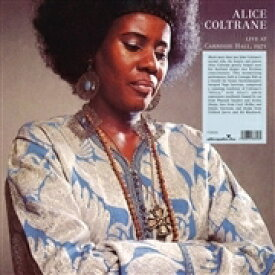 Alice Coltrane アリスコルトレーン / Africa Live At The Carnegie Hall 1971 【LP】