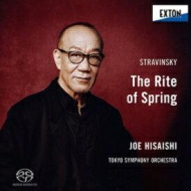 【送料無料】 Stravinsky ストラビンスキー / 春の祭典 久石 譲&東京交響楽団 【SACD】