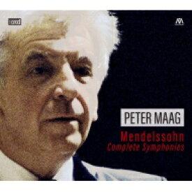 【送料無料】 Mendelssohn メンデルスゾーン / 交響曲全集 ペーター・マーク&マドリード交響楽団(3XRCD) 輸入盤 【CD】