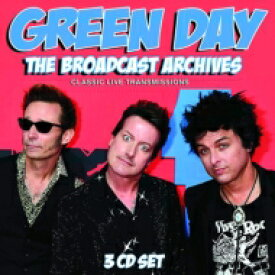 Green Day グリーンデイ / Broadcast Archives (3CD) 輸入盤 【CD】