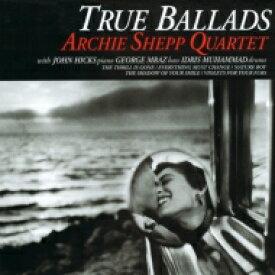 Archie Shepp アーチーシェップ / True Ballad (180グラム重量盤レコード / Venus Hyper Magnum Sound) 【LP】