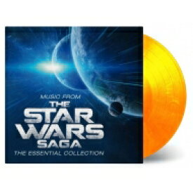 Robert Ziegler / Music From The Star Wars Saga - The Essential Collection (Flaming Vinyl) (オレンジ・ヴァイナル仕様 / 2枚組 / 180グラム重量盤レコード / Music On Vinyl) 【LP】
